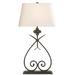 Harper Table Lamp - Natural Rusted Iron