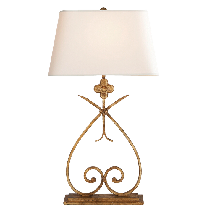 Harper Table Lamp - Gilded Iron
