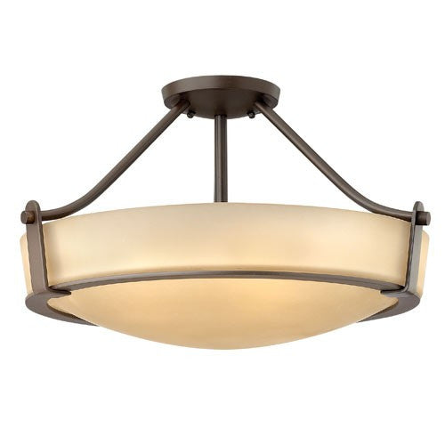 Hathaway 4 Light Ceiling Light - Old Bronze