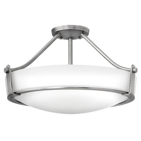 Hathaway 4 Light Ceiling Light - Antique Nickel