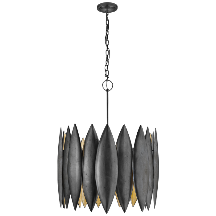 Hatton Large Pendant Aged Iron