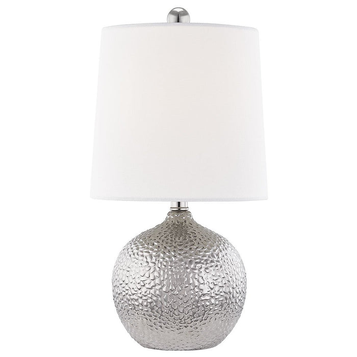 Heather Table Lamp - Silver Finish