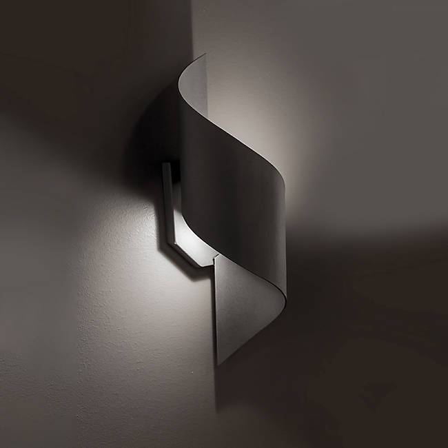 Helix LED Outdoor Wall Light - Display