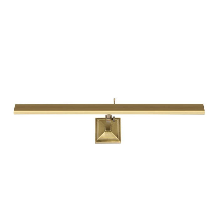 "Hemmingway 27"" Picture Light - Burnished Brass Finish"