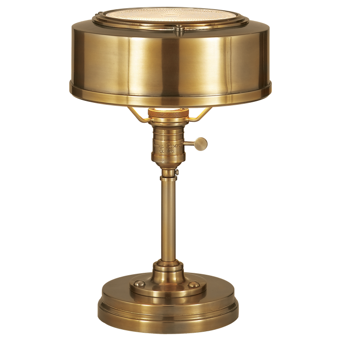 Henley Task Lamp - Hand-Rubbed Antique Brass