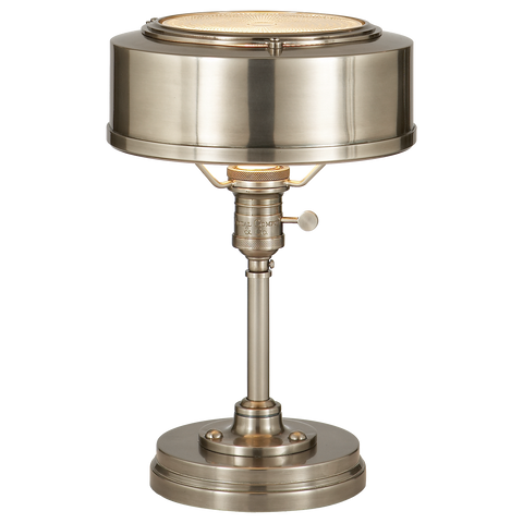 Henley Task Lamp Antique Nickel