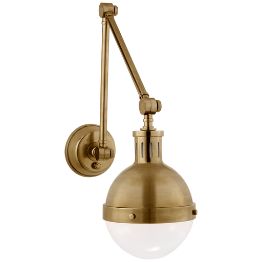 Hicks Library Light - Hand-Rubbed Antique Brass