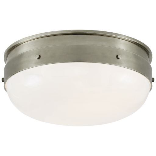 Hicks Small Flush Mount - Antique Nickel