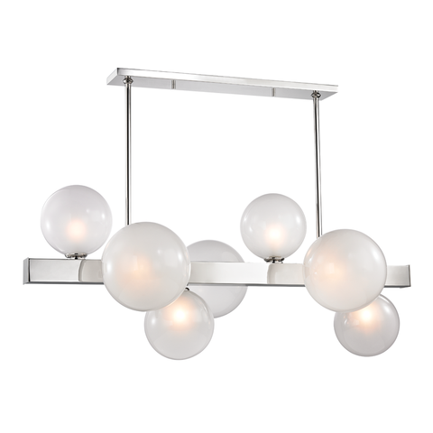 Hinsdale Linear Suspension Polished Nickel