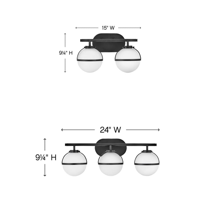 Hollis Bath Bar - Diagram