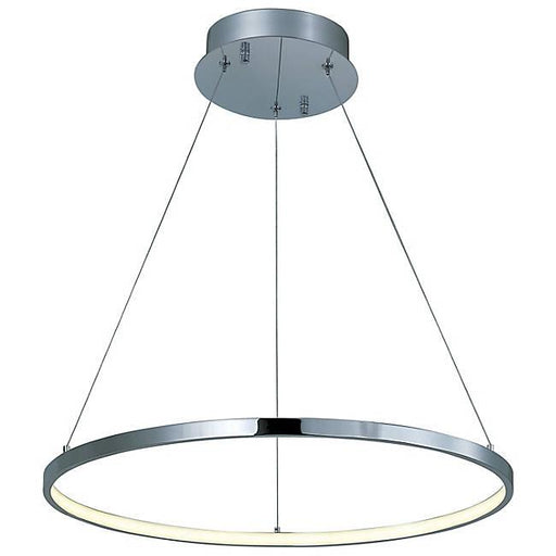 Hoops LED Pendant - Polished Chrome