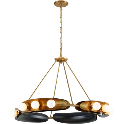 Hopper 12 Light Chandelier