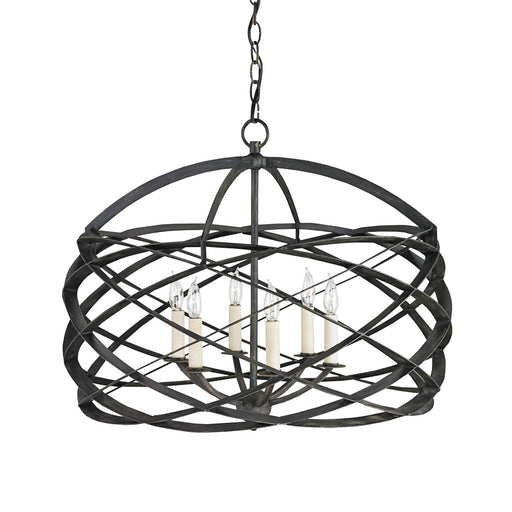 Horatio Chandelier - Black Iron Finish