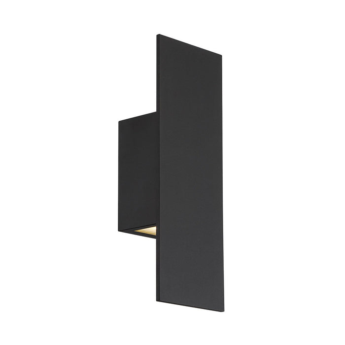 Icon LED Small Outdoor Sconce -  Black