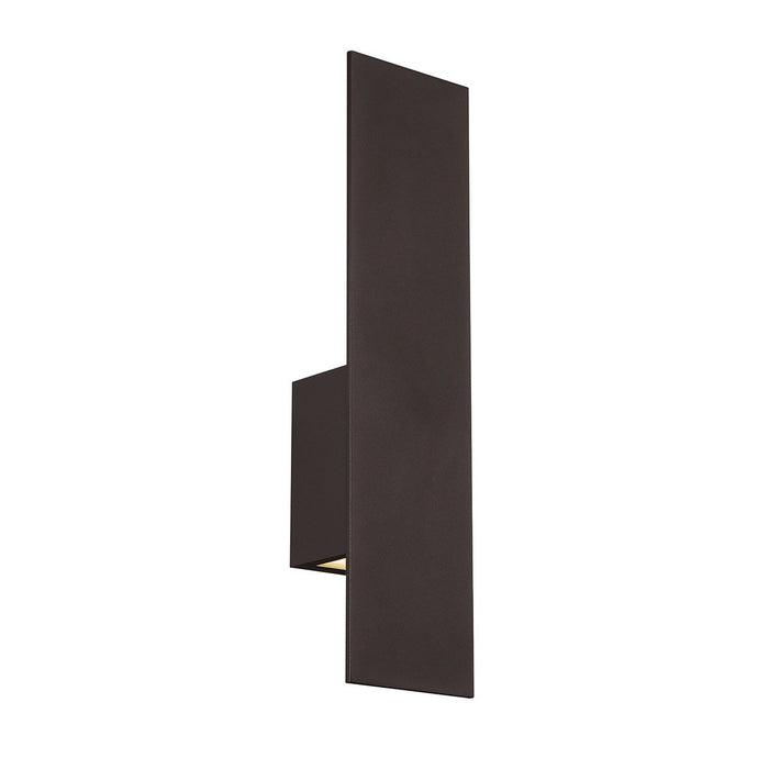Icon LED Large Outdoor Sconce - Bronze