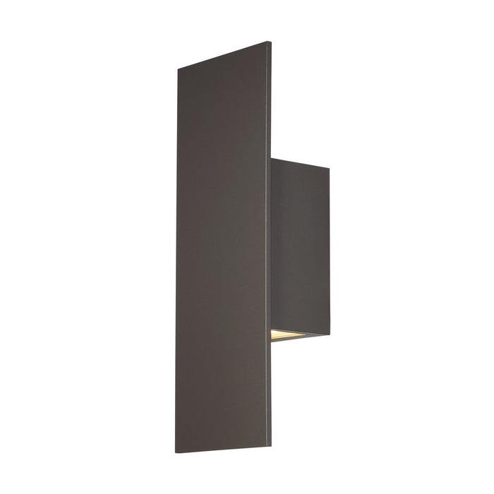 Icon LED Small Outdoor Sconce - Bronze