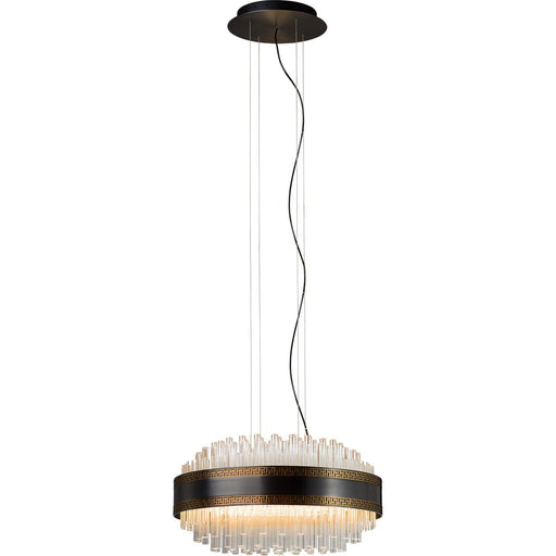 Illusion Pendant - Satin Dark Gray Finish