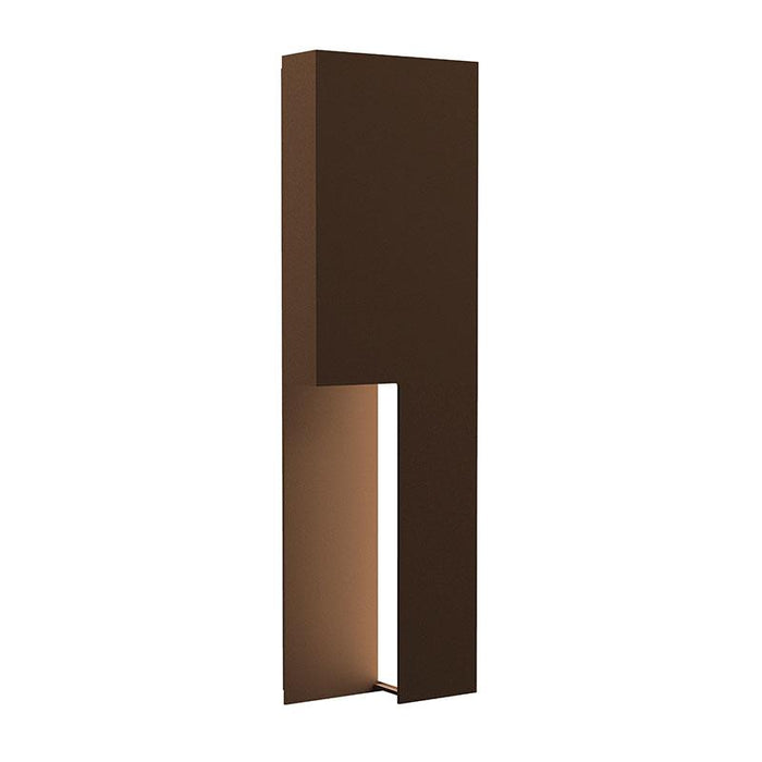 "Incavo 20"" LED Outdoor Wall Sconce - Textured Bronze Finish"