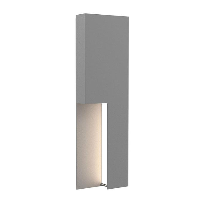 "Incavo 20"" LED Outdoor Wall Sconce - Textured Gray Finish"