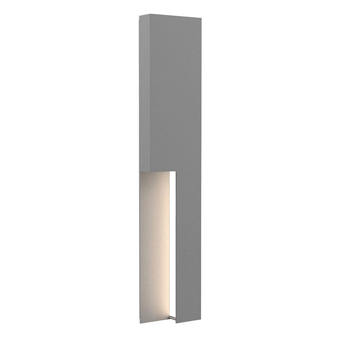 "Incavo 30"" LED Outdoor Wall Sconce - Textured Gray Finish"