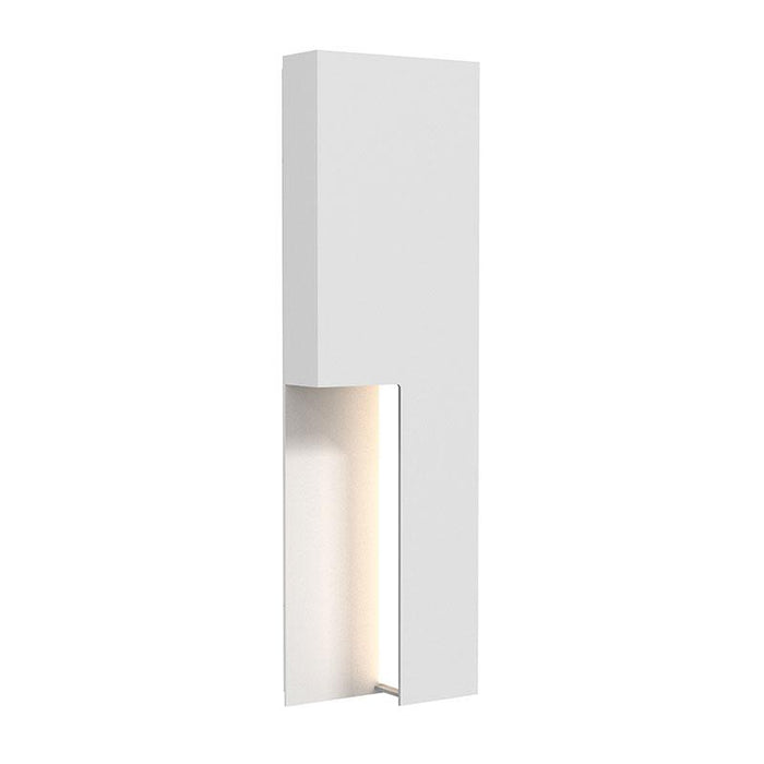 "Incavo 20"" LED Outdoor Wall Sconce - Textured White Finish"