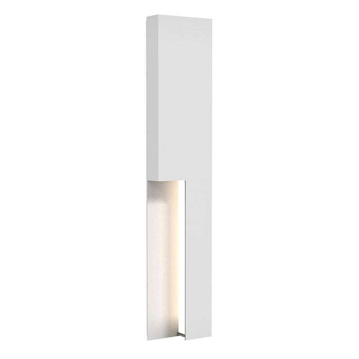 "Incavo 30"" LED Outdoor Wall Sconce - Textured White Finish"