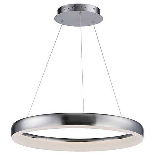 Innertube Small LED Pendant - Satin Nickel