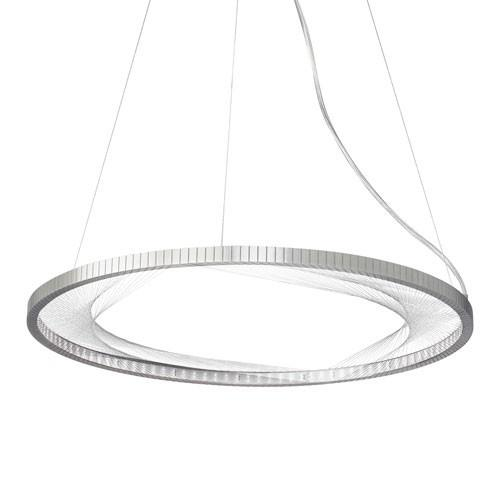 Interlace Suspension Light - Satin Nickel