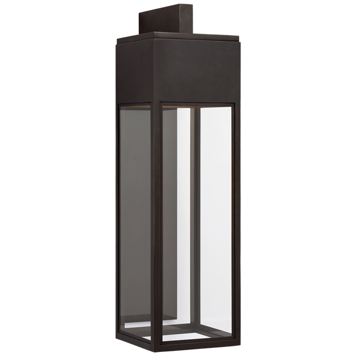 Irvine Grande Bracketed Wall Lantern - Bronze Finish