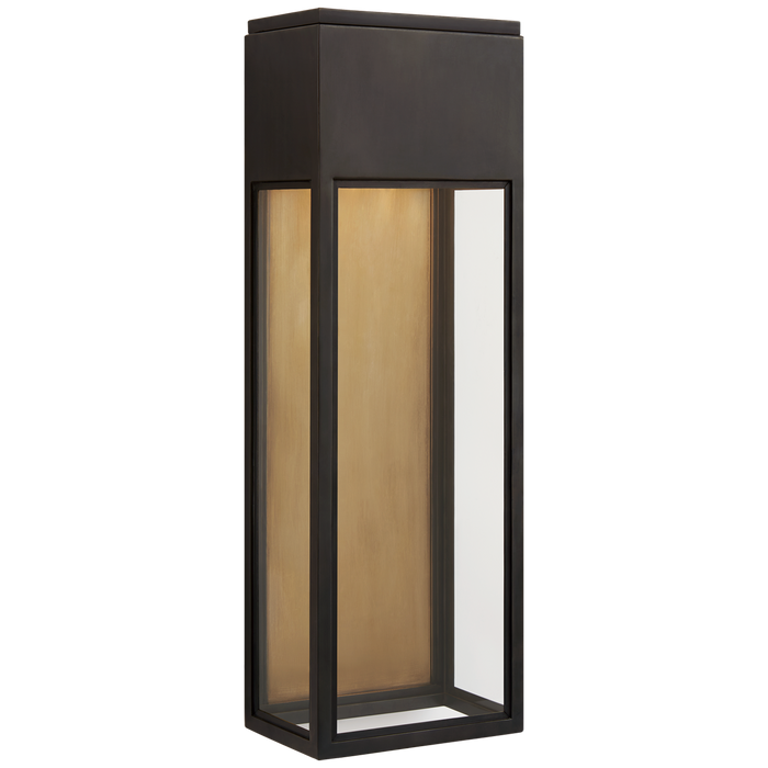 Irvine Large Wall Lantern - Bronze Finish