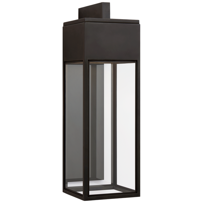 Irvine Large Bracketed Wall Lantern - Bronze Finish