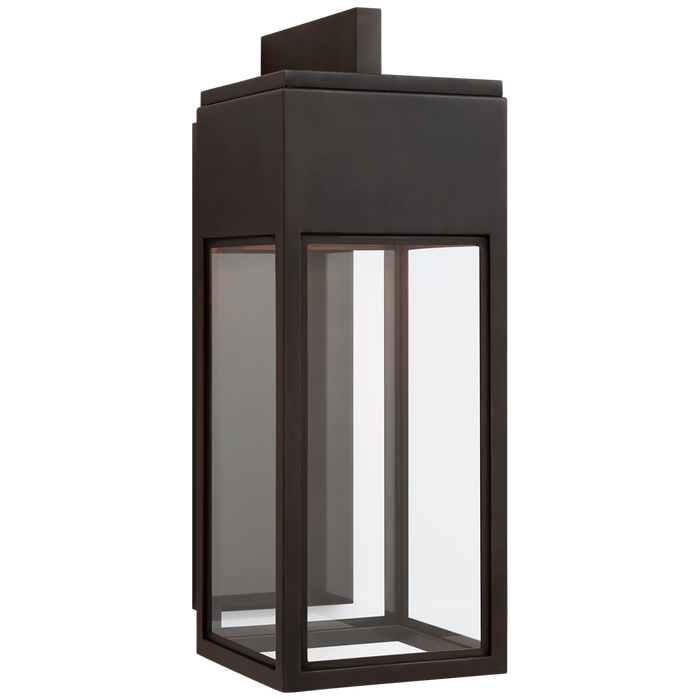 Irvine Medium Bracketed Wall Lantern - Bronze Finish
