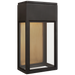 Irvine Small Wall Lantern - Bronze Finish