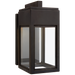Irvine Small Bracketed Wall Lantern - Bronze Finish