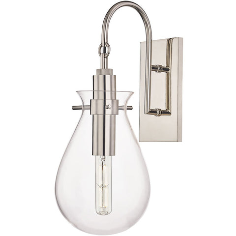 Ivy Wall Sconce - Polished Nickel