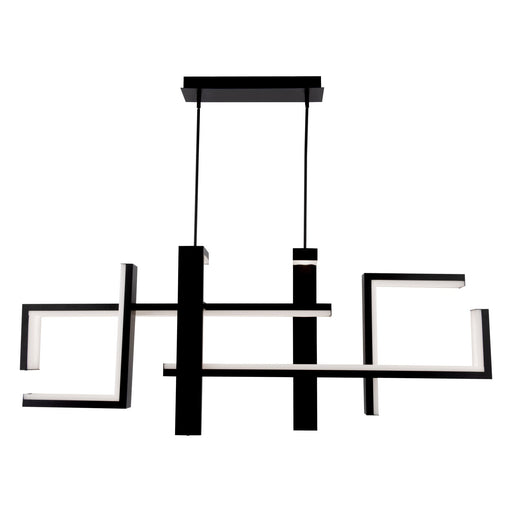 Jackal Linear Pendant - Black Finish