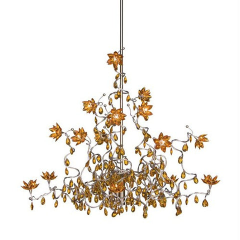 Jewel HL 15 Chandelier - Amber