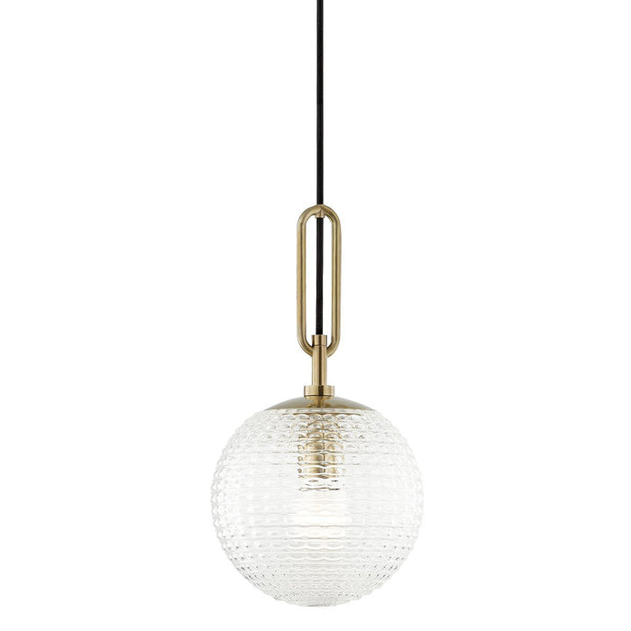 Jewett Pendant - Aged Brass