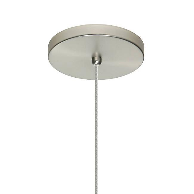 Jodi LED Mini Pendant - Satin Nickel Canopy