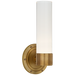 Jones Small Single Sconce - Natural Brass Finish