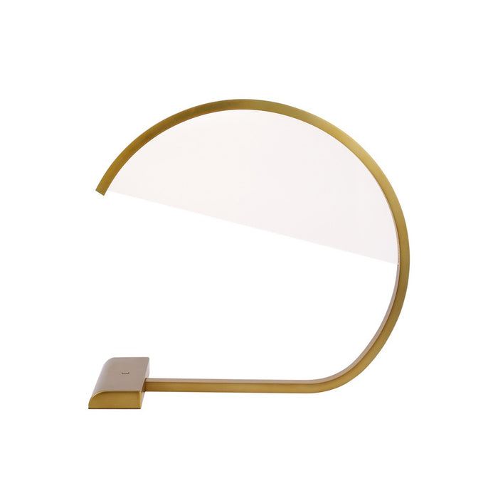 Karla Table Lamp - Natural Brass Finish