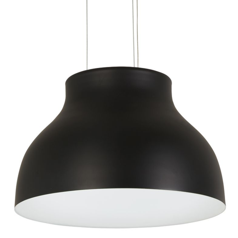 Kettle Up LED Pendant Light - Black Finish