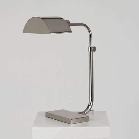 Koleman Task Table Lamp Polished Nickel