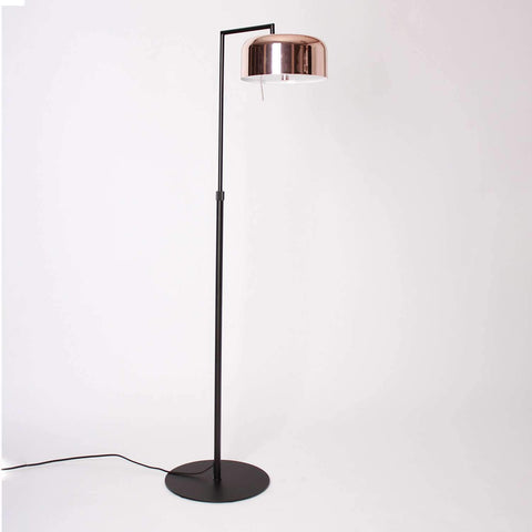 Lalu+ Floor Lamp - Matte Black/Copper Finish