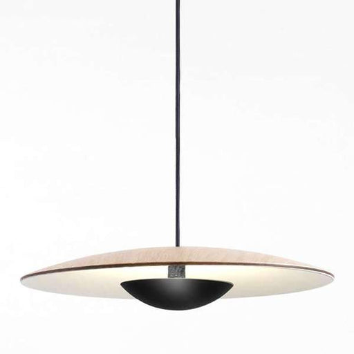 Ginger LED 20 Mini Pendant - Oak/White Finish