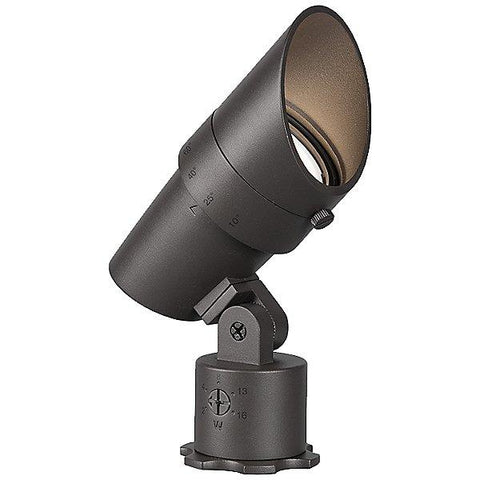 LED 12V Accent Landscape Light Bronze on Brass