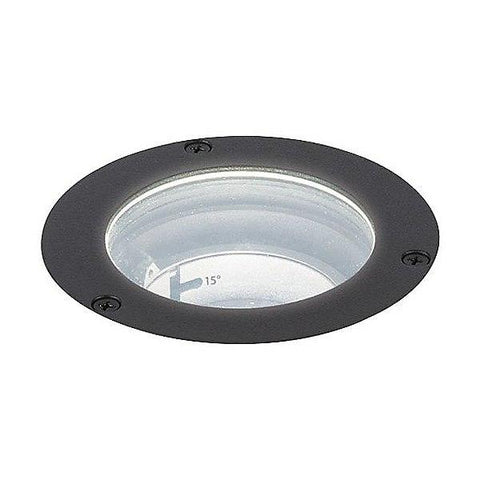 "LED 3"" 120V In-Ground Well Light - Bronze on Aluminum"