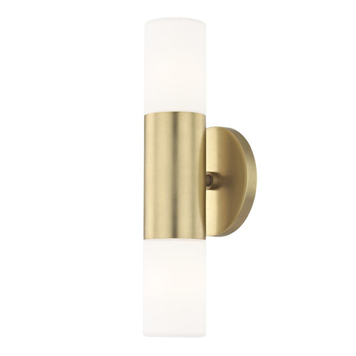 LOLA WALL 2 LIGHT Aged Brass
