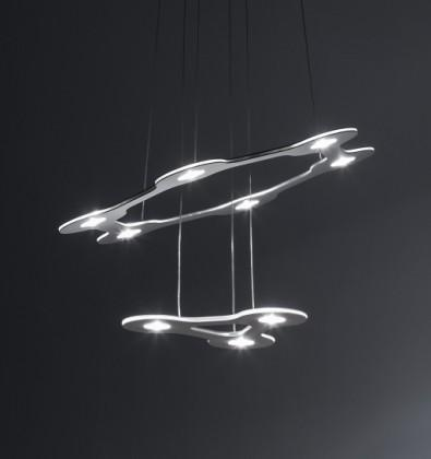 LUMEN CENTER FLAT SATURN 1 SUSPENSION LAMP