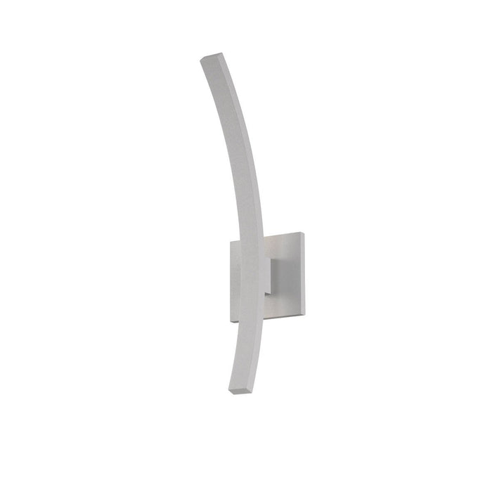 "L'Arc 18"" Outdoor LED Wall Sconce - Gray Finish"